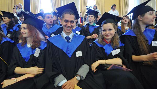 Estudiantes en Rusia - Sputnik Mundo