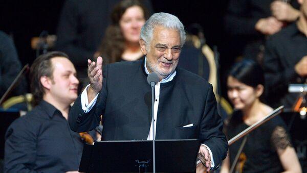 Plácido Domingo, tenor - Sputnik Mundo