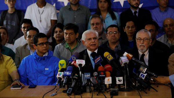 Omar Barboza, presidente de la Asamblea Nacional de Venezuela - Sputnik Mundo