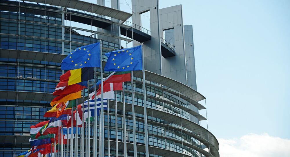 Sede del Parlamento Europeo en Estrasburgo