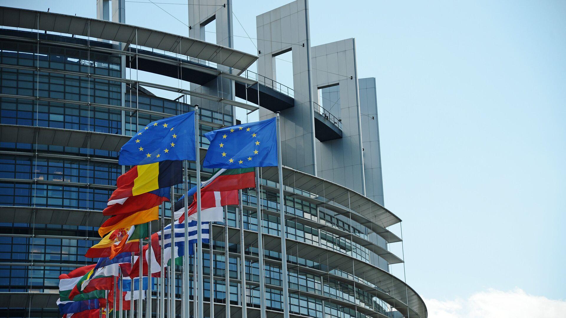 Sede del Parlamento Europeo en Estrasburgo - Sputnik Mundo, 1920, 05.06.2021