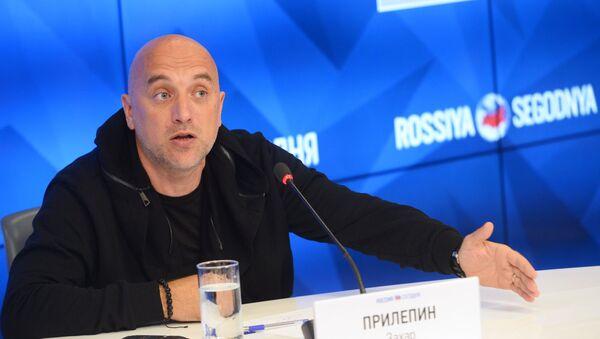 Zajar Prilepin, escritor ruso - Sputnik Mundo