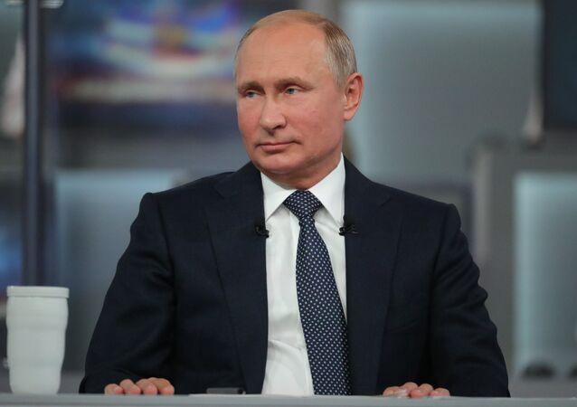 Vladímir Putin (archivo)