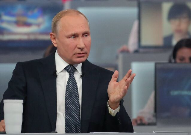 Una 'Línea directa' con Vladímir Putin (archivo)