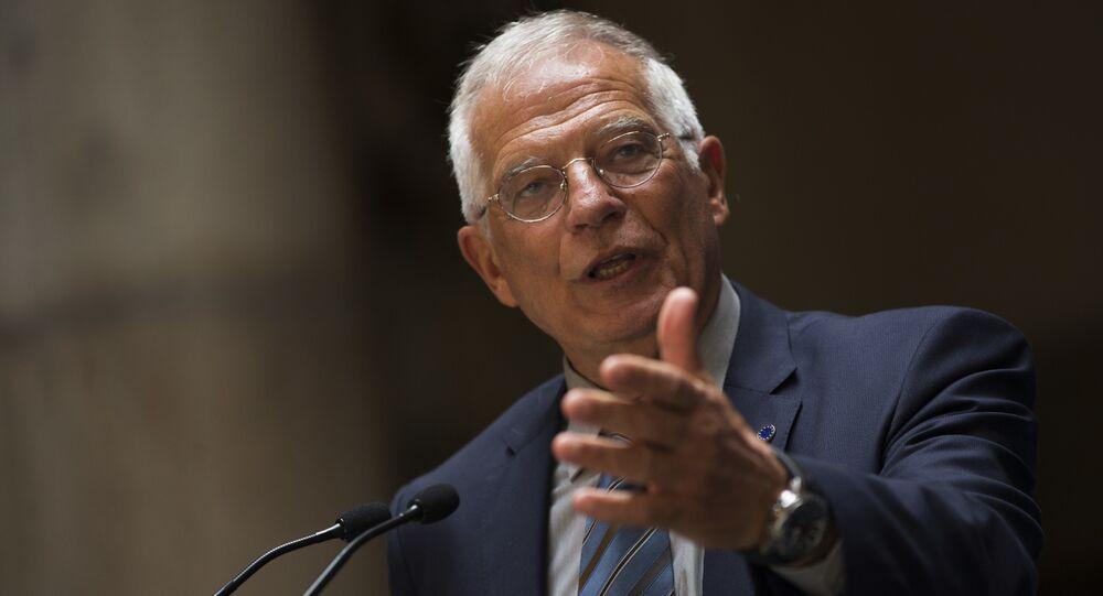 Josep Borrell, jefe del Servicio de Acción Exterior de la UE