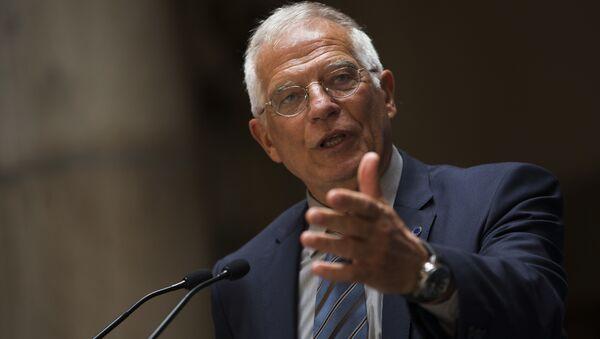 Josep Borrell, alto representante de la UE para Asuntos Exteriores y Política de Seguridad - Sputnik Mundo