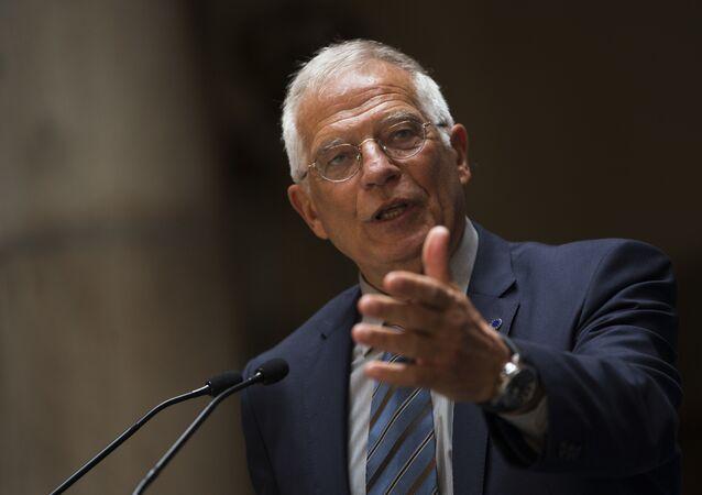 Josep Borrell, alto representante de la UE para la Política Exterior