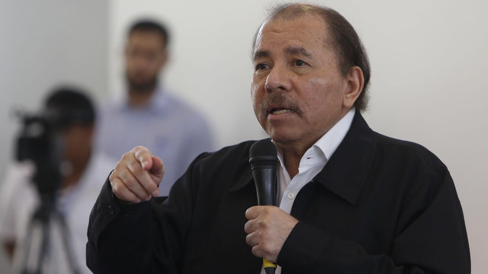 Daniel Ortega, presidente de Nicaragua  - Sputnik Mundo, 1920, 24.04.2021