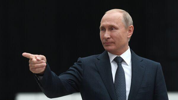 Conferencia de prensa del presidente de Rusia, Vladímir Putin - Sputnik Mundo