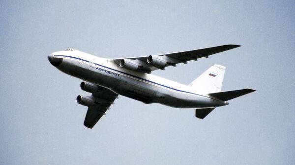 Avión de transporte ruso An-124 Ruslan - Sputnik Mundo