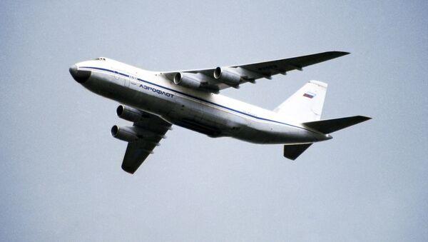 Avión de transporte An-124 Ruslan - Sputnik Mundo