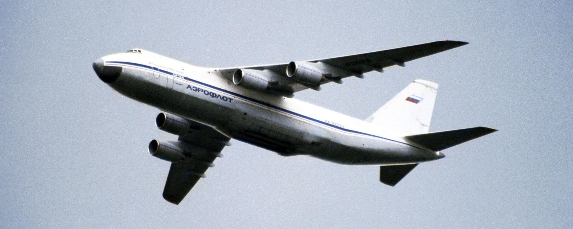 Avión de transporte ruso An-124 Ruslan - Sputnik Mundo, 1920, 26.07.2021