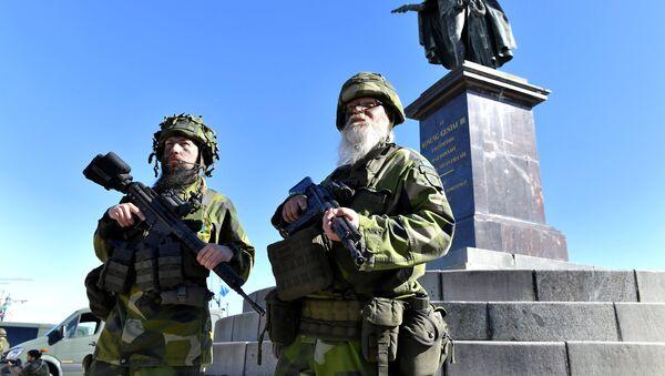 Reservistas suecos - Sputnik Mundo