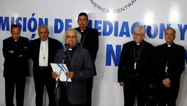 Los obispos de la Conferencia Episcopal de Nicaragua - Sputnik Mundo