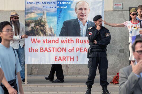Cohetes, protestas y el inicio del verano: las fotos más bonitas de esta semana - Sputnik Mundo