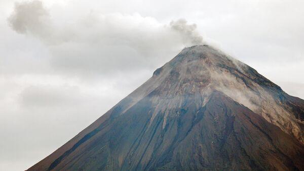 El volcán de Fuego - Sputnik Mundo
