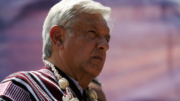 Andrés Manuel López Obrador, candidato a la presidencia de México - Sputnik Mundo