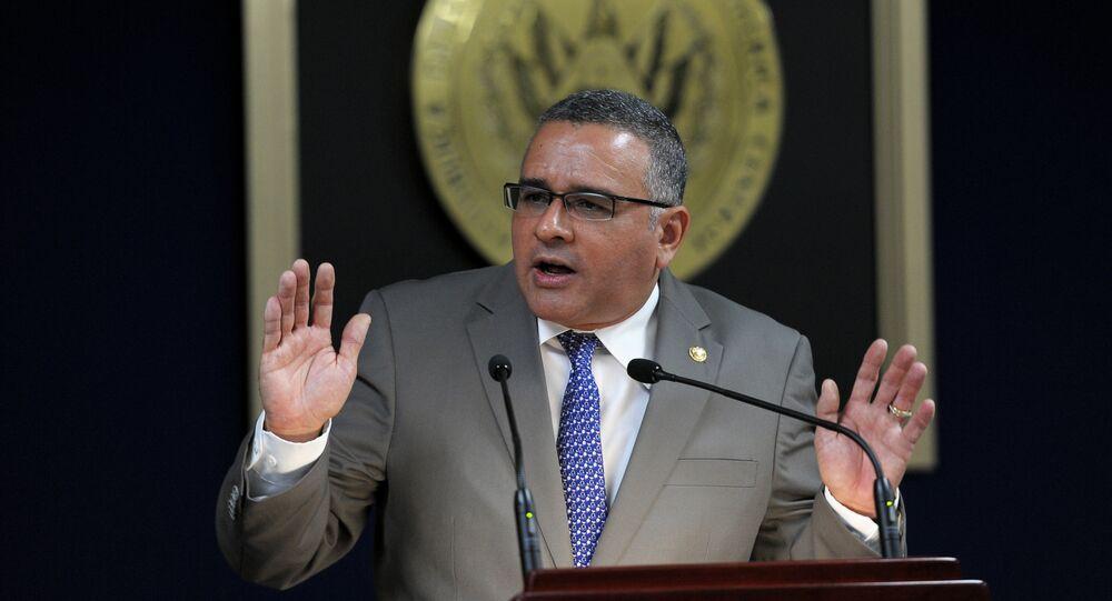 Mauricio Funes, expresidente de El Salvador