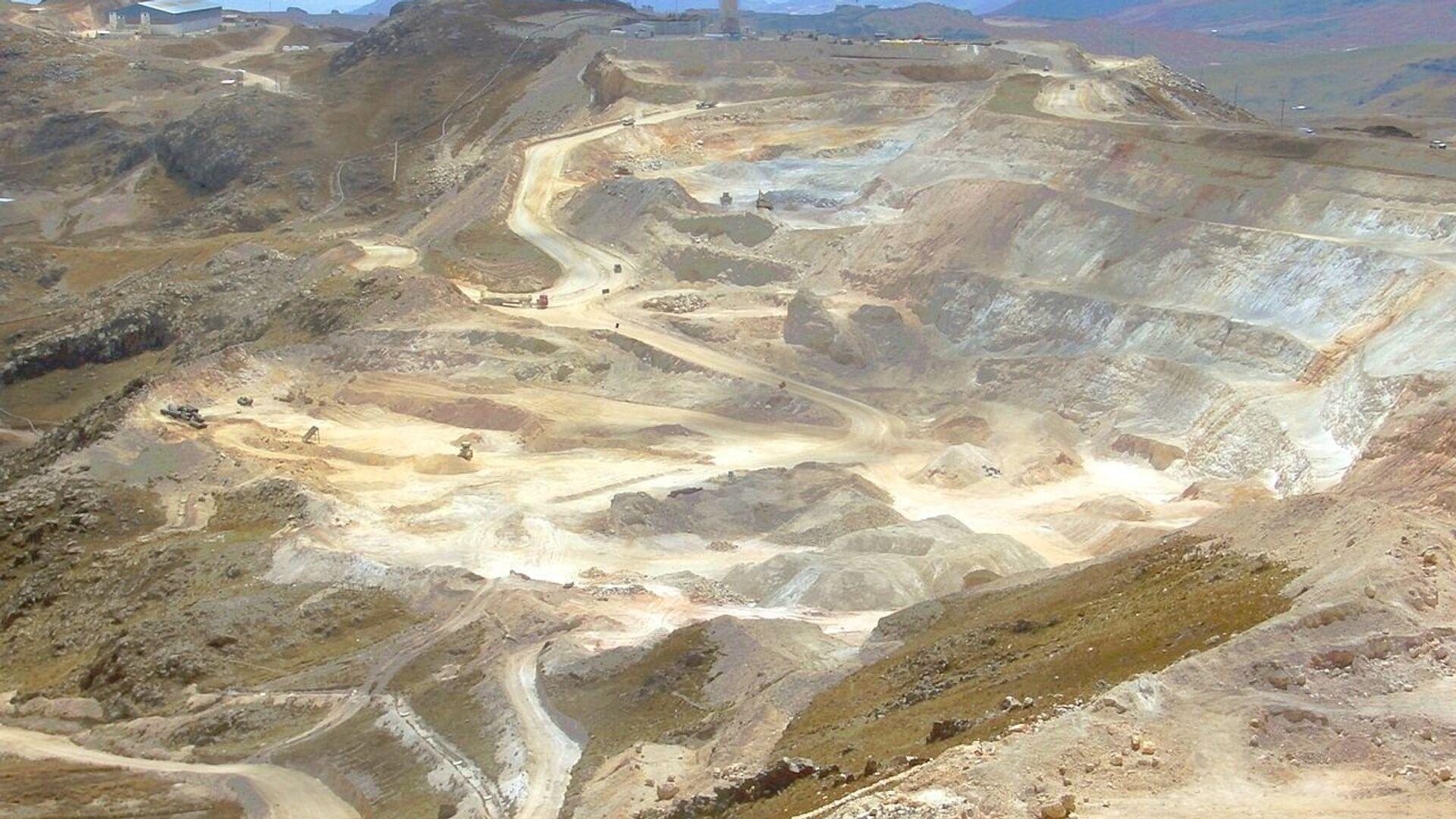 Mina de oro en Perú - Sputnik Mundo, 1920, 07.05.2021