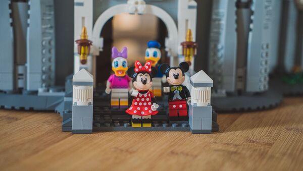 Los personajes de Disney de Lego (imagen referencial) - Sputnik Mundo