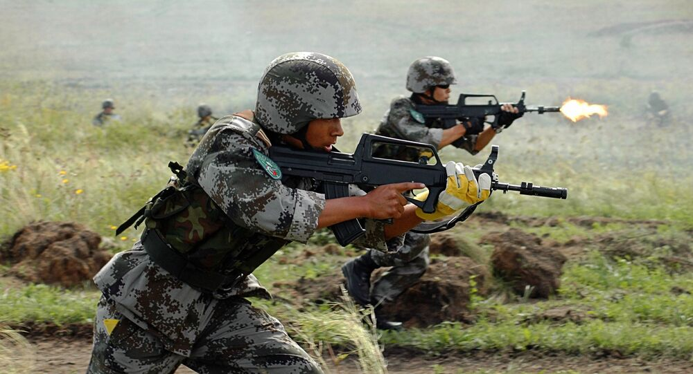 Maniobras antiterroristas de la OCS en Kazajistán