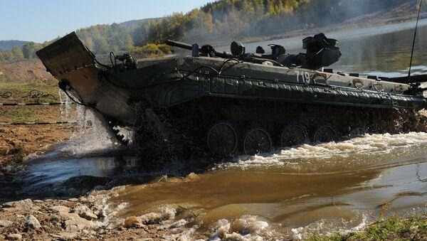 Мehículo de combate de infantería BMP-1, imágen referencial - Sputnik Mundo