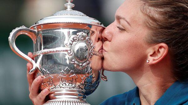 La tenista rumana Simona Halep - Sputnik Mundo