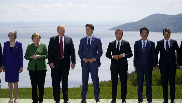 Los líderes del G7 - Sputnik Mundo