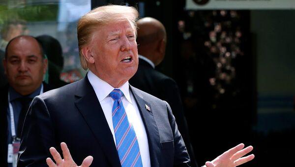 Donald Trump, presidente de Estados Unidos - Sputnik Mundo