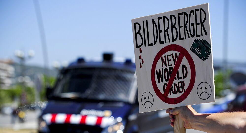 Protestas contra el Club Bilderberg