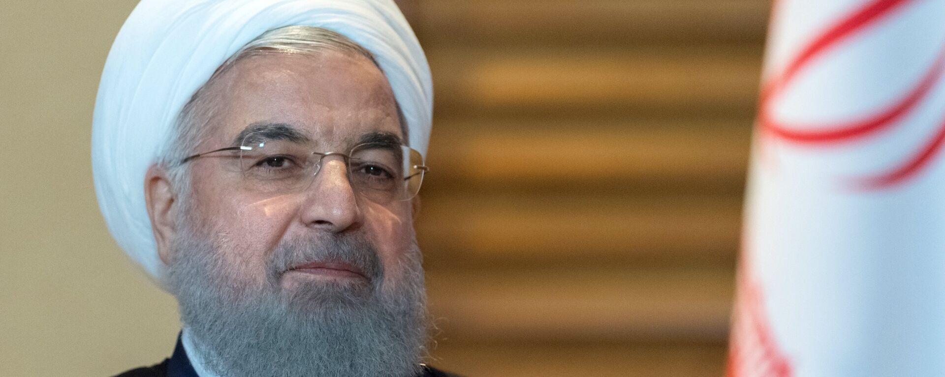 Hasán Rohaní, presidente de Irán - Sputnik Mundo, 1920, 15.04.2021