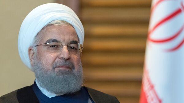 Hasán Rohaní, presidente de Irán - Sputnik Mundo