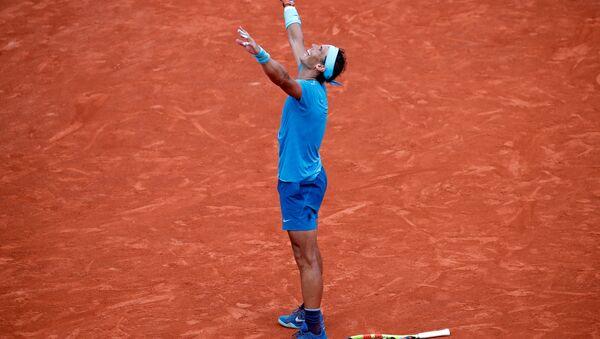 Rafael Nadal, tenista español, logra su undécimo título en el Abierto de Francia - Sputnik Mundo