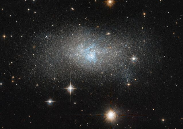 Galaxia enana IC 4870 (imagen referencial)