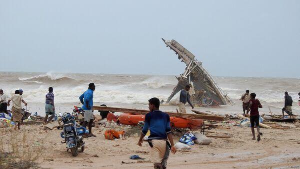 Consecuencias del ciclón Mekunu en Socotra - Sputnik Mundo