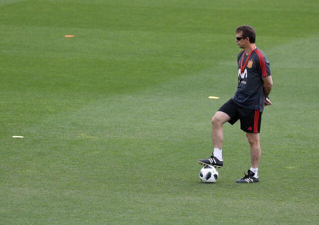 Julen Lopetegui, entrenador de la selección española de fútbol