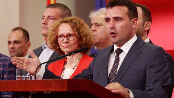 El primer ministro de Macedonia, Zoran Zaev - Sputnik Mundo