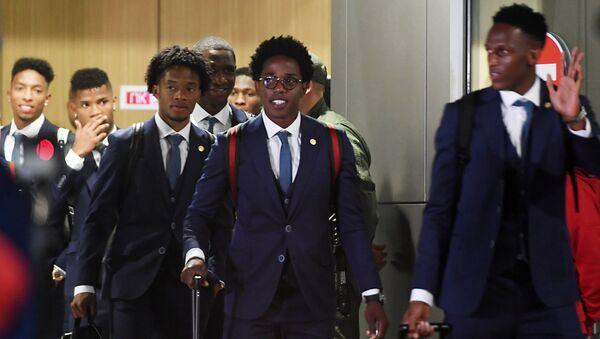 Selección de Colombia arriba a Kazán - Sputnik Mundo