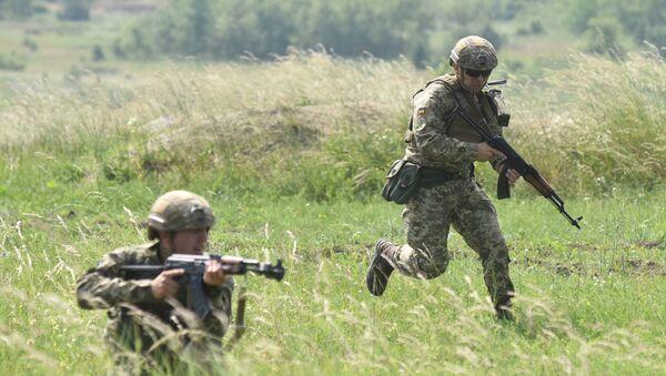 Soldados ucranianos (imagen referencial) - Sputnik Mundo