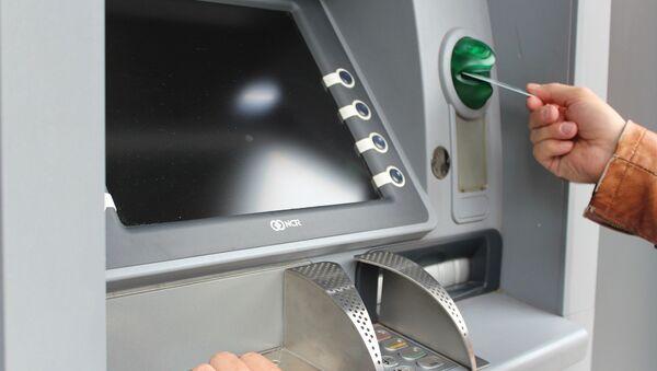 Un cajero automático - Sputnik Mundo