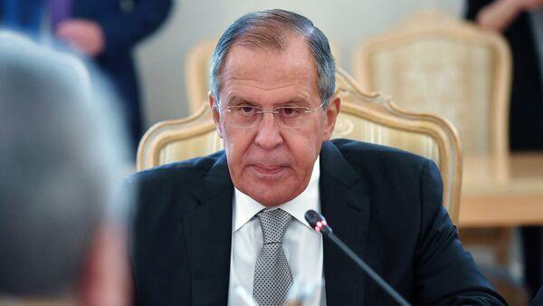 El ministro de Asuntos Exteriores de Rusia, Serguéi Lavrov - Sputnik Mundo