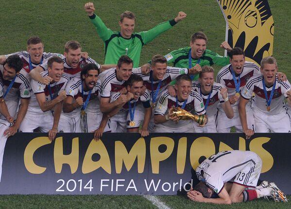 'Crème de la crème': los grandes campeones de los Mundiales - Sputnik Mundo