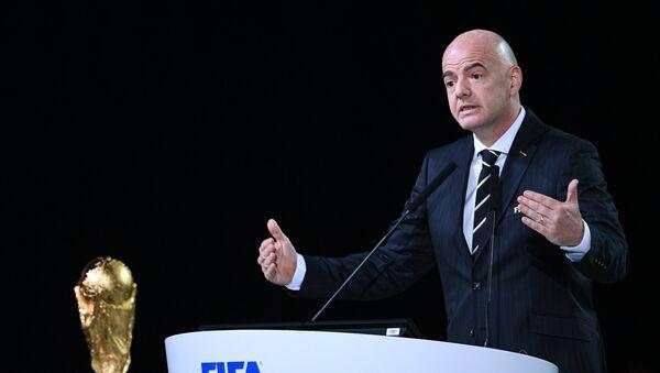 Gianni Infantino, el presidente de la FIFA - Sputnik Mundo