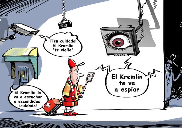 'Kremlinofobia': EEUU aconseja evitar el uso de celulares durante el Mundial