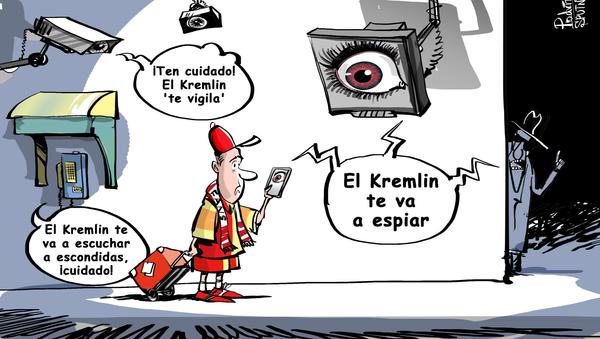 'Kremlinofobia': EEUU aconseja evitar el uso de celulares durante el Mundial - Sputnik Mundo