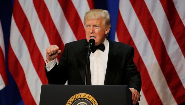 El presidente de EEUU, Donald Trump (archivo) - Sputnik Mundo