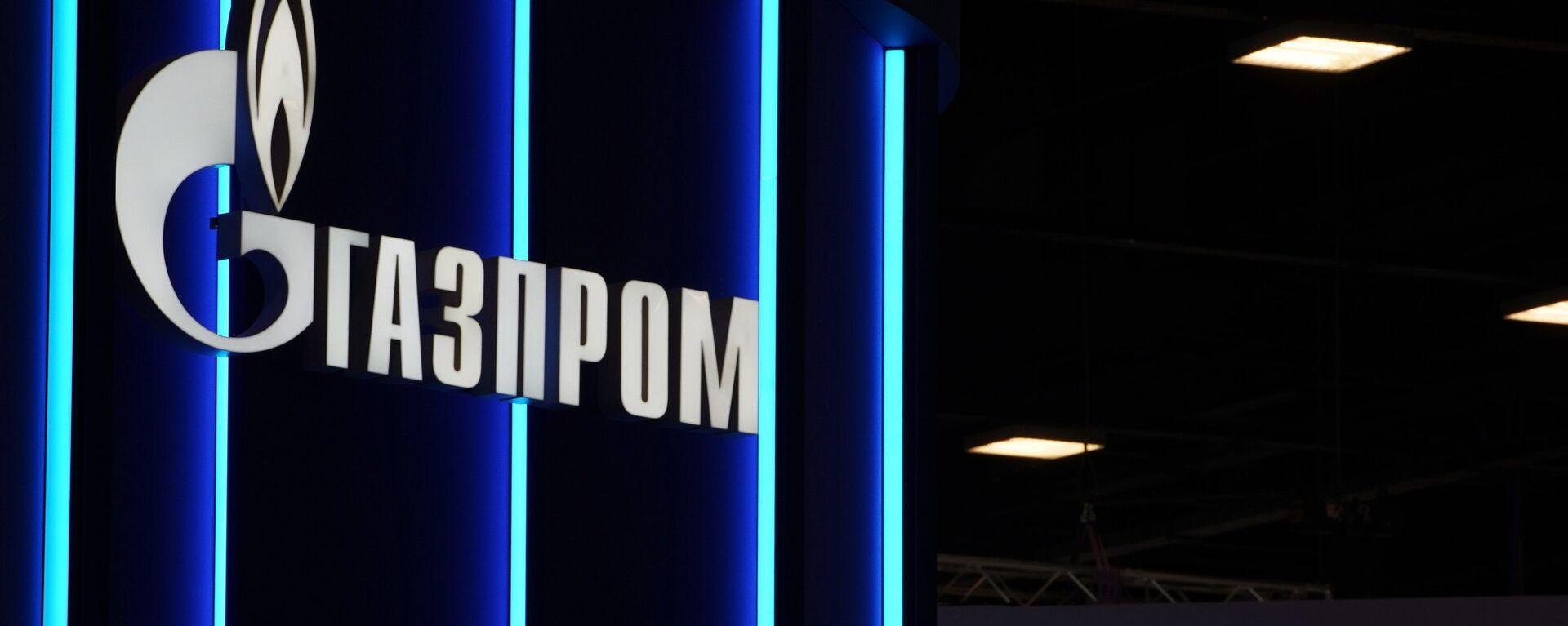 Logo de Gazprom - Sputnik Mundo, 1920, 02.04.2021