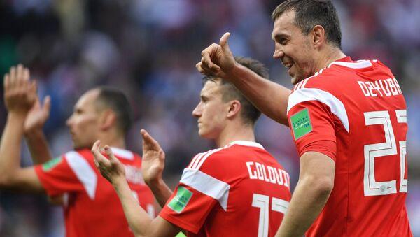 La selección rusa del fútbol (archivo) - Sputnik Mundo