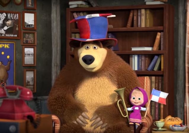 Captura de pantalla de 'Masha y el Oso'