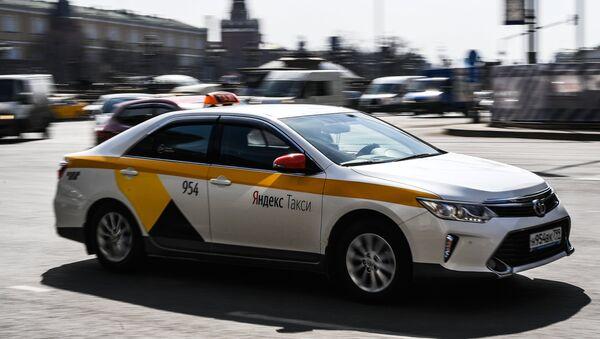 Un Yandex.Taxi - Sputnik Mundo